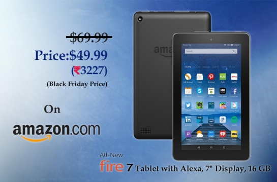 All-New Fire 7 Tablet with Alexa Ad.
