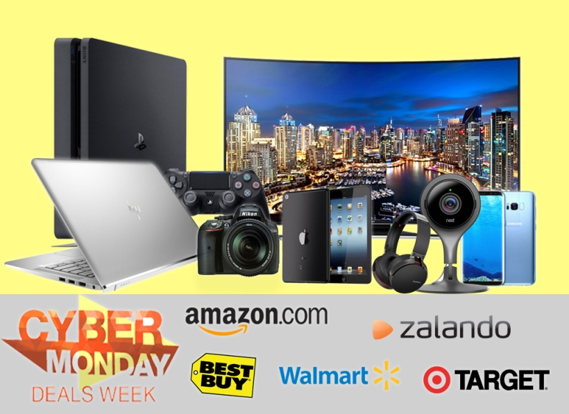 CYBER Monday deals week Ad.