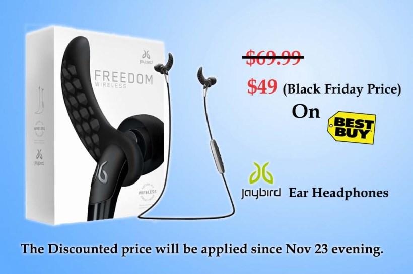 Freedom F5 Wireless In-Ear Headphones